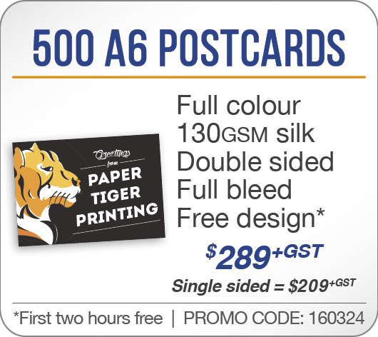 500 A6 Postcards
