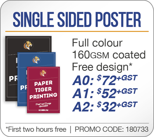 Single Sided Poster