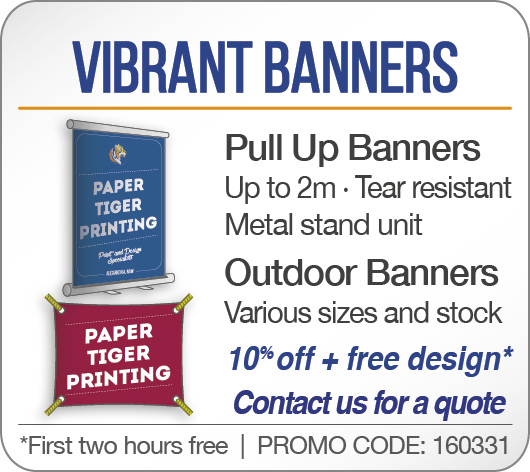 Vibrant Banners