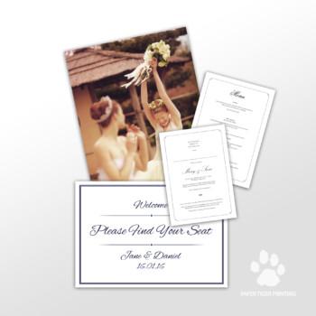 Digital Wedding Stationary