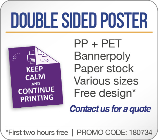 Double Sided Poster